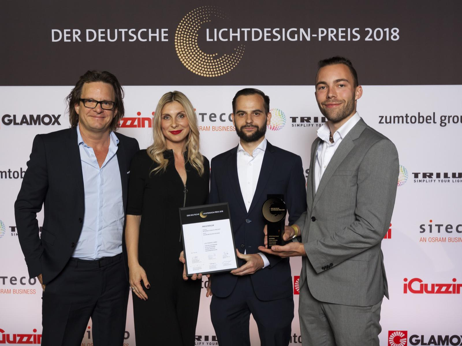 GERMAN LIGHTING DESIGN AWARD 2018